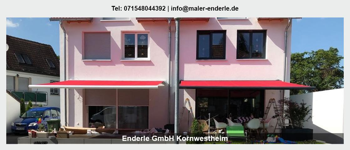 Maler Weissach - Enderle GmbH: Malerbetrieb, Renovierung
