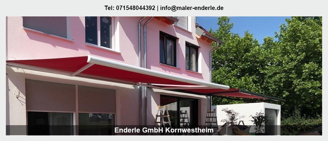 Maler Pleidelsheim - Enderle GmbH: Malerbetrieb, Renovierung