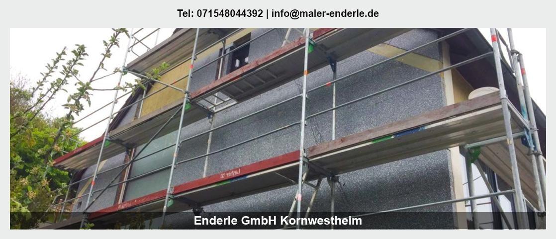 Maler für Ingersheim - Enderle GmbH: Malerbetrieb, Wohnungsrenovierung