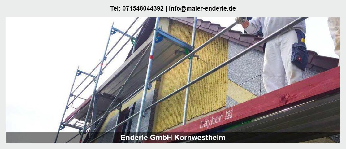 Maler für Löwenstein - Enderle GmbH: Malerbetrieb, Wohnungsrenovierung