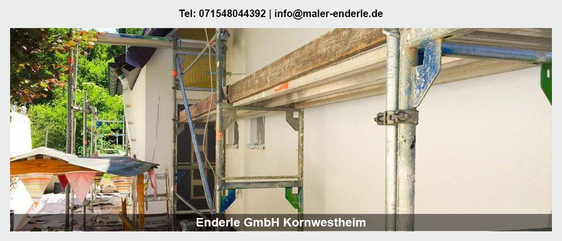 Maler für Kornwestheim - Enderle GmbH: Malerbetrieb, Wohnungsrenovierung