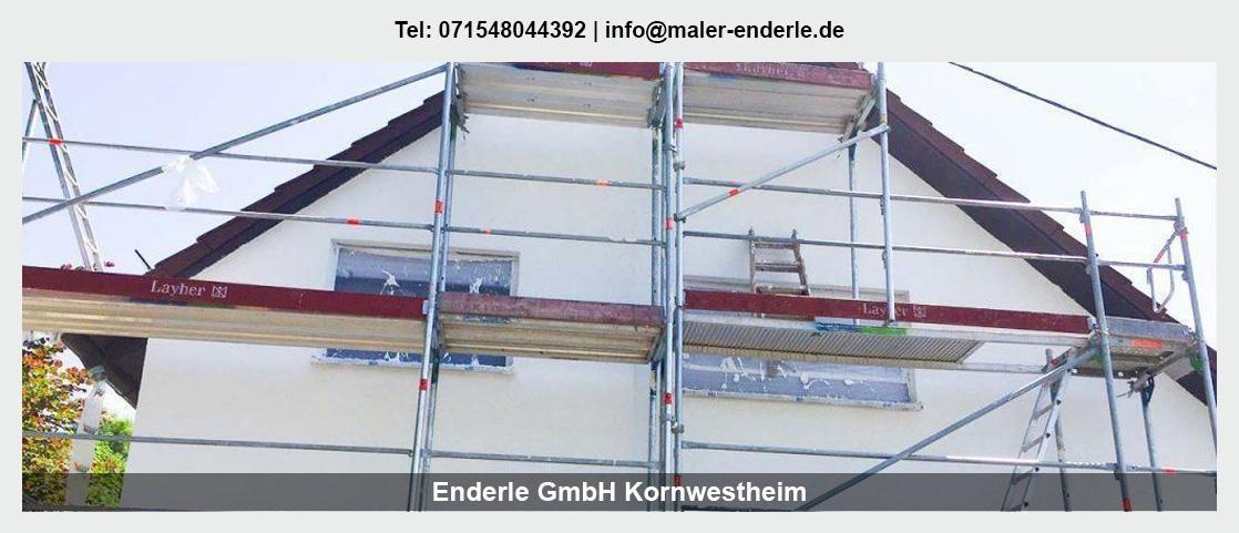Maler für Berglen - Enderle GmbH: Malerbetrieb, Renovierung
