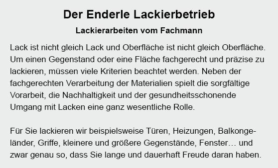 Lackierbetrieb in  Albershausen
