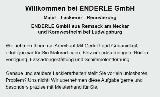 Malerbetrieb aus 71404 Korb, Winnenden, Remshalden, Leutenbach, Remseck (Neckar), Fellbach, Kernen (Remstal) oder Weinstadt, Schwaikheim, Waiblingen